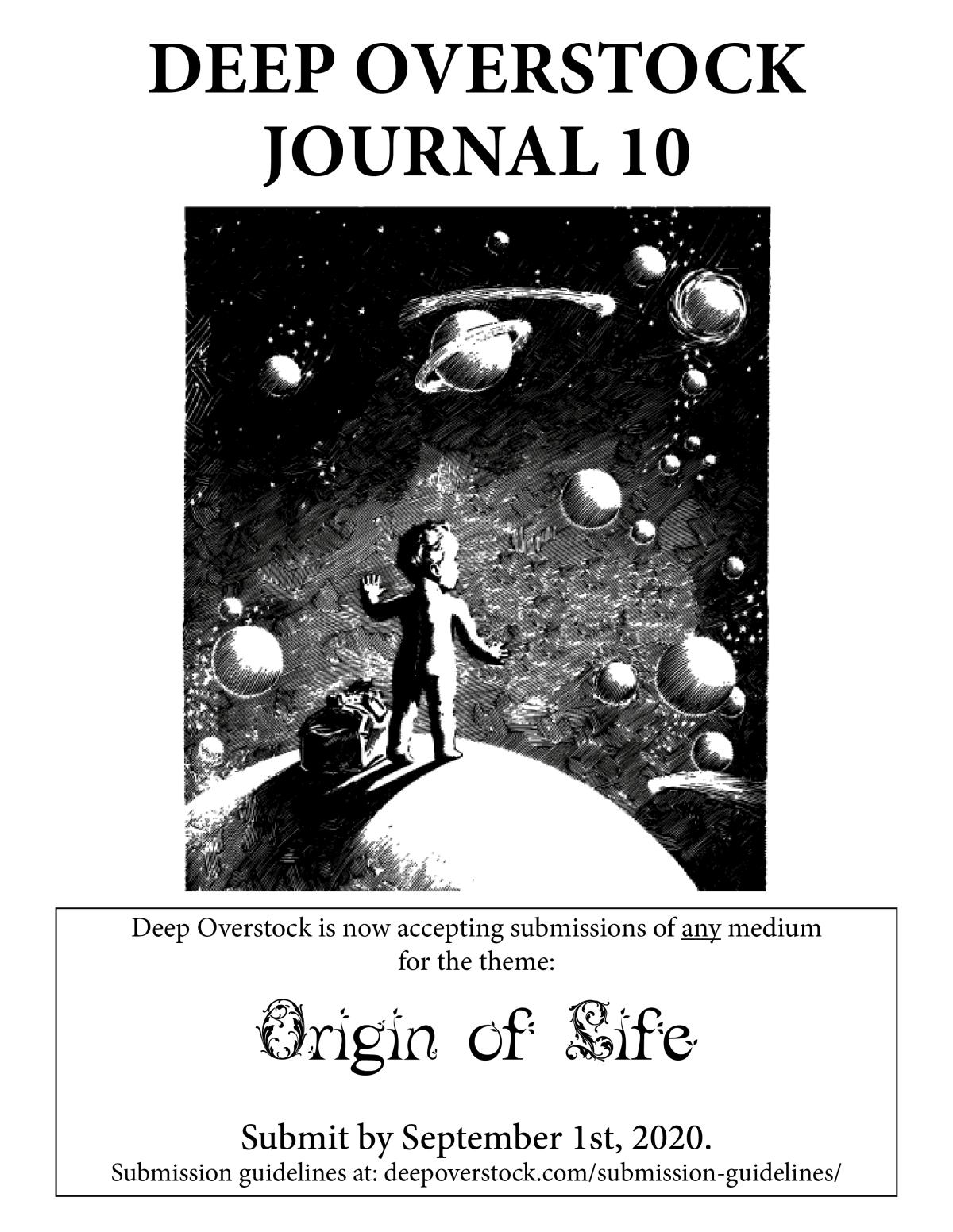 Deep Overstock Journal 10 poster