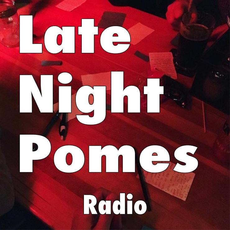 Late Night Pomes Radio logo